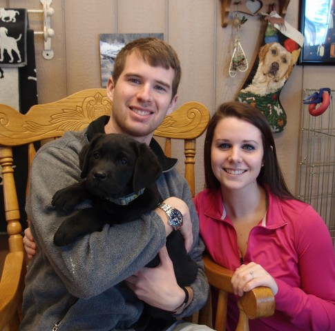 """Winnie"" is so happy with her new Family from LaCrosse, WI"